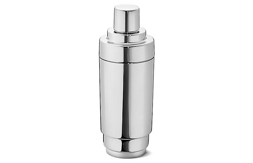 Manhattan Cocktail Shaker, Silver