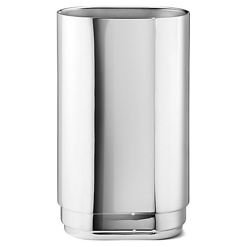 Manhattan Vase, Silver