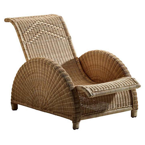 Paris Outdoor Chair, Natural