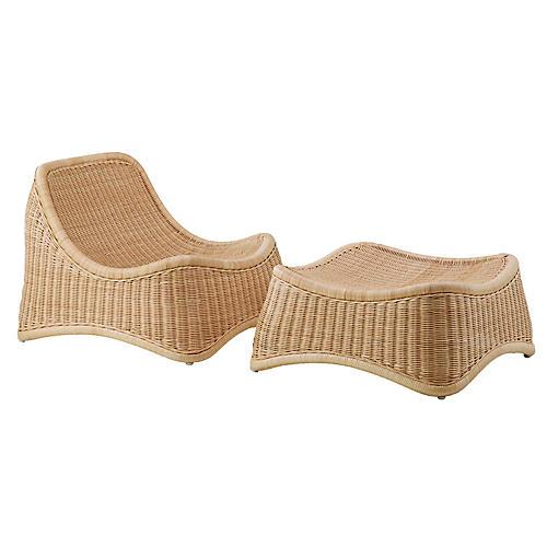 Nanna Ditzel Chill Chair, Natural