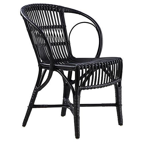 Wengler Chair, Polished Black