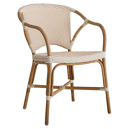 Valerie Rattan Chair, Natural