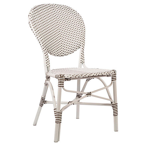 Isabell Outdoor Side Chair, White