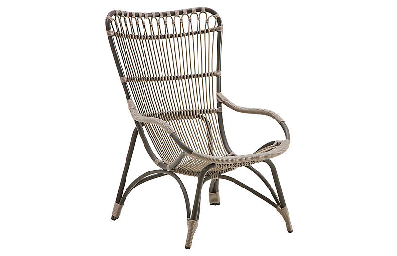 Monet High-Back Chair, Moccachino