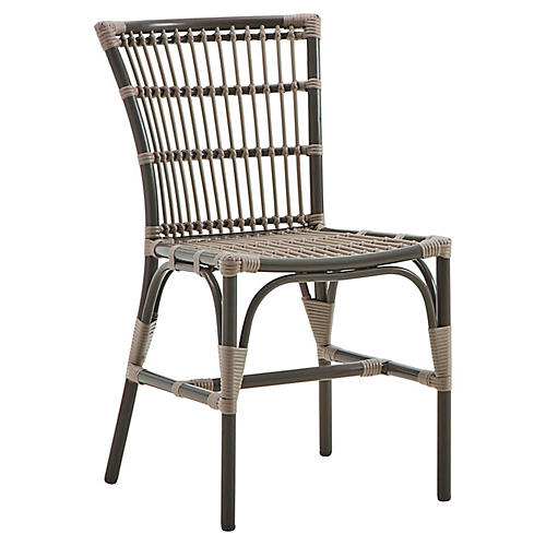 Elisabeth Outdoor Side Chair, Moccachino