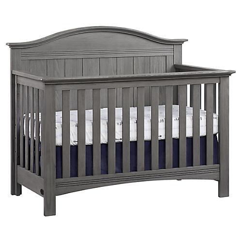 Ezra Crib, Graphite Gray
