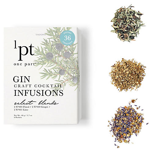 Gin Cocktail Infusions