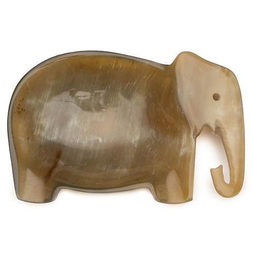 Elephant Dish, Natural
