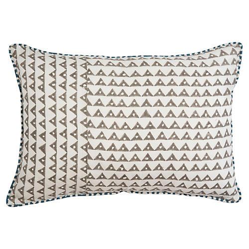 Koyota 14x20 Lumbar Pillow, Ash Linen