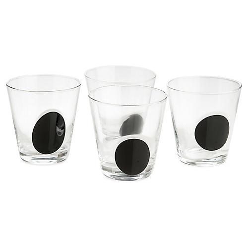 S/4 Iris DOF Glasses, Black/Clear