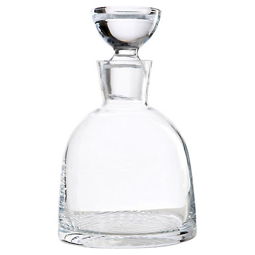 Orleans Decanter, Clear