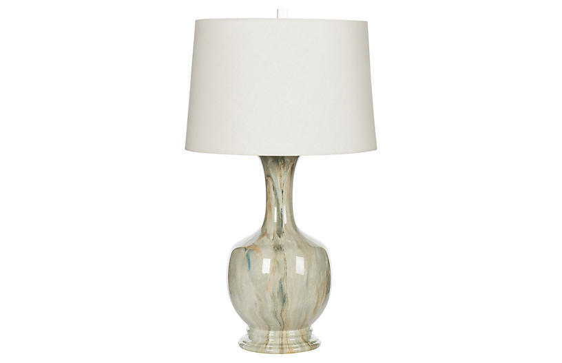 Aegean Table Lamp, Natural