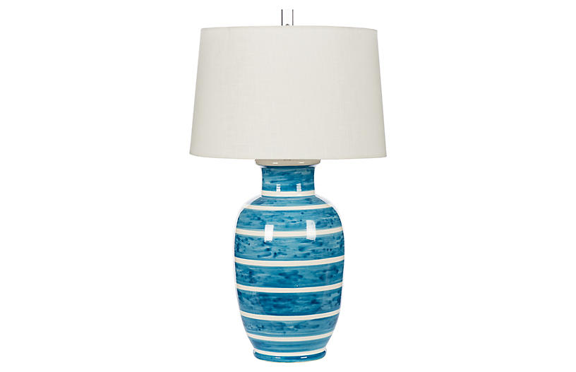 Maritime Table Lamp, Blue