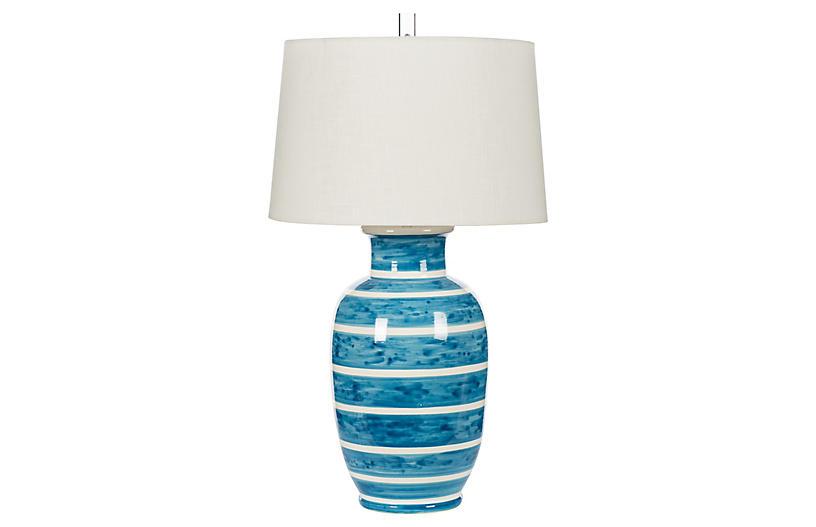 Maritime Table Lamp, Blue