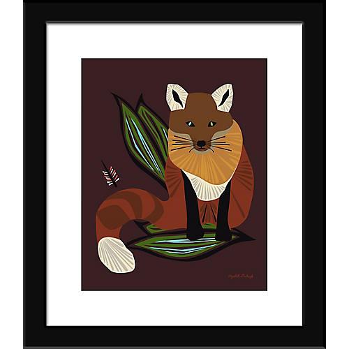 Foxy Painting