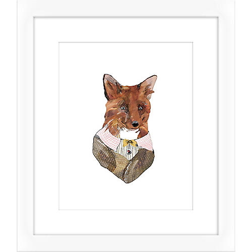 Jaybird Illustration, Fox