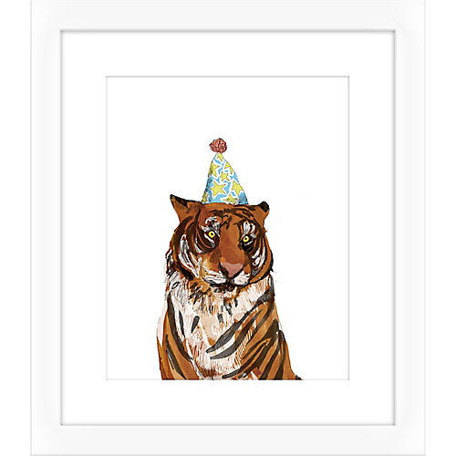 Jaybird Illustration, Tiger I