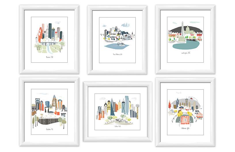 Albie Designs, Big Cities Gallery Wall