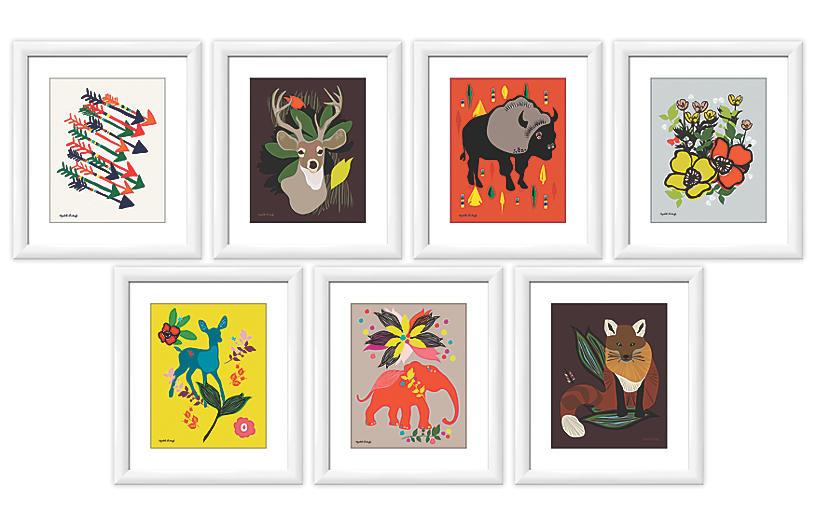 Elizabeth Grubaugh, Paintings Gallery Wall