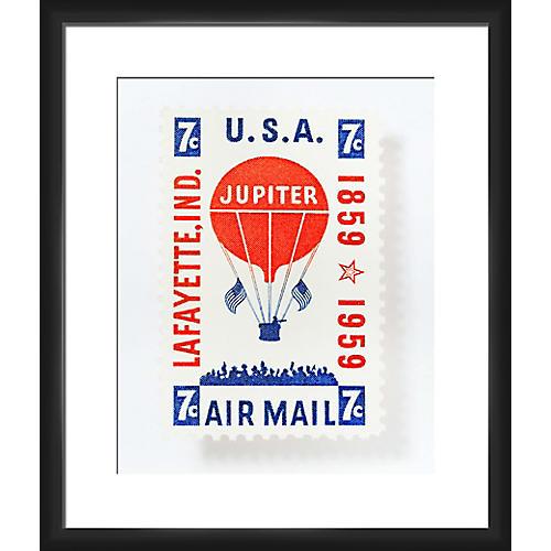 Leslee Mitchell, Jupiter Airmail Stamp