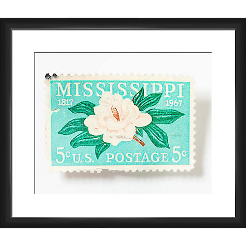Leslee Mitchell, Mississippi 5-Cent Stamp