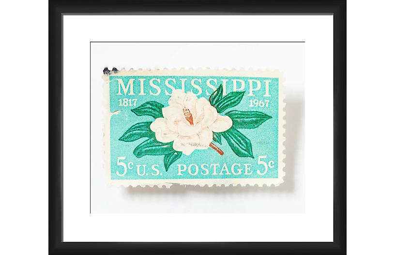 Leslee Mitchell, Mississippi 5-Cent Stamp