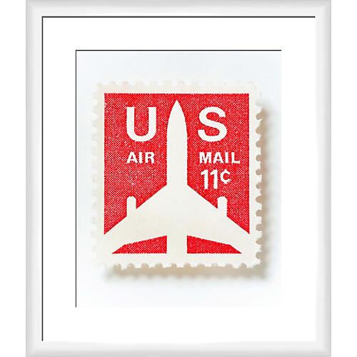 Leslee Mitchell, US Airmail Stamp