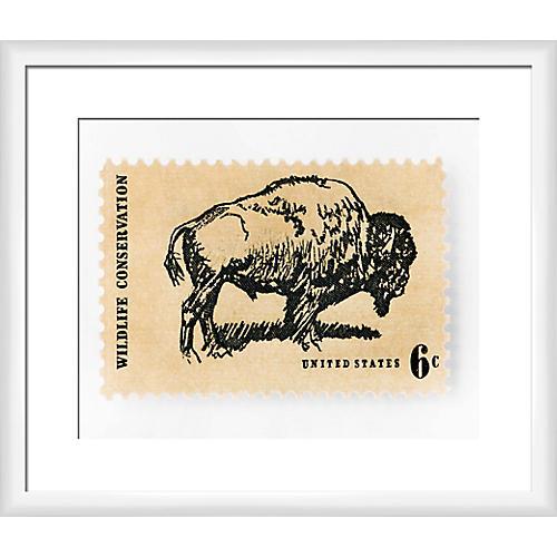 Leslee Mitchell, Bison Stamp