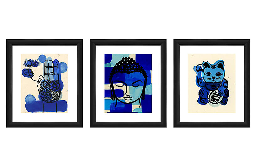 As Collective, Buddha Triptych