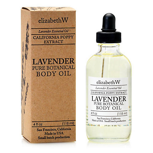 Lavender Body Oil, Clear