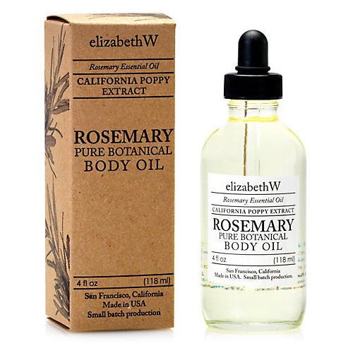 Rosemary Body Oil, Clear