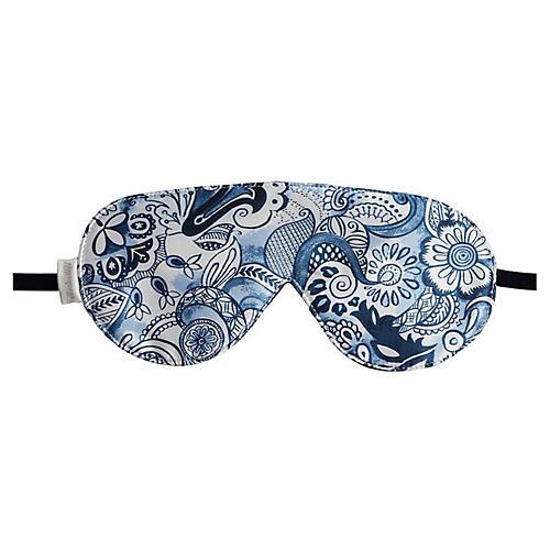 Venetian Sleep Mask, Blue
