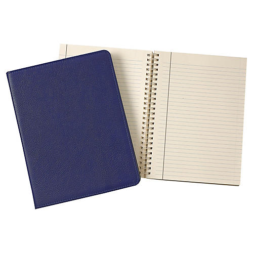 Writer's Refillable Notebook, Indigo