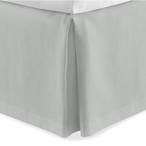 Mandalay Tailored Bed Skirt, Mist
