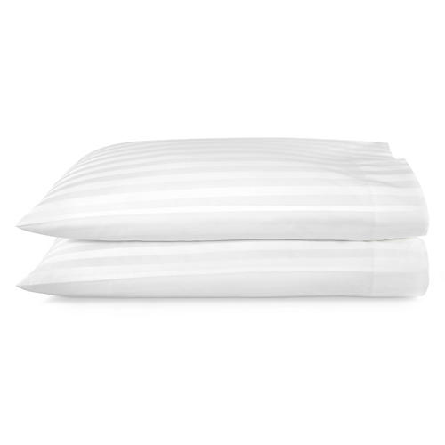 S/2 Duet Pillowcases, White