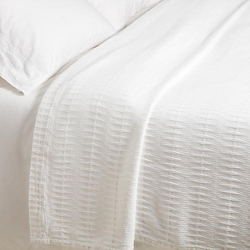 Finley Coverlet, White