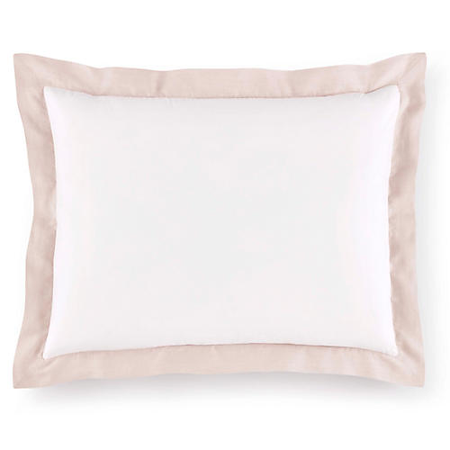 Mandalay Cuff Sham, Blush