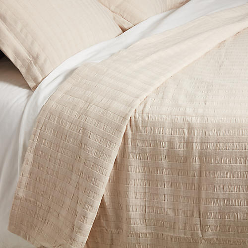 Cambridge Coverlet Set, Linen