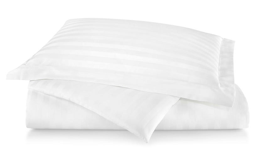 Duet Duvet Set, White