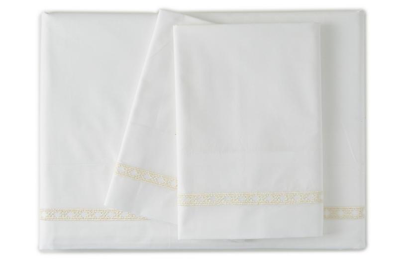Dace Sheet Set, Ivory