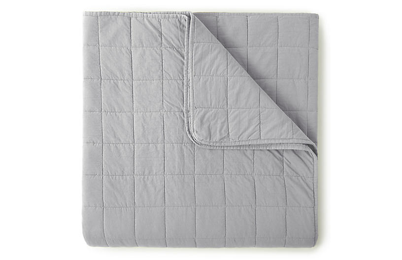 4-Square Quilted Coverlet