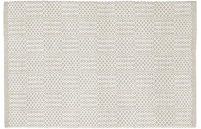 Bonnie Handwoven Rug, Gray