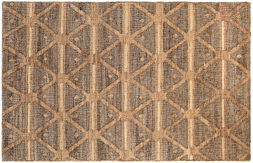 DASH & ALBERT - Rumi Jute Rug, Natural