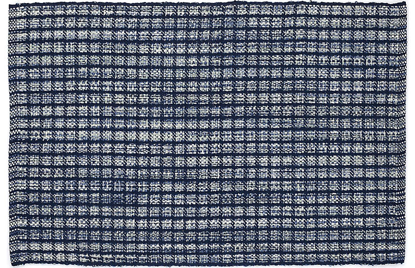 Coco Indoor/Outdoor Rug, Blue