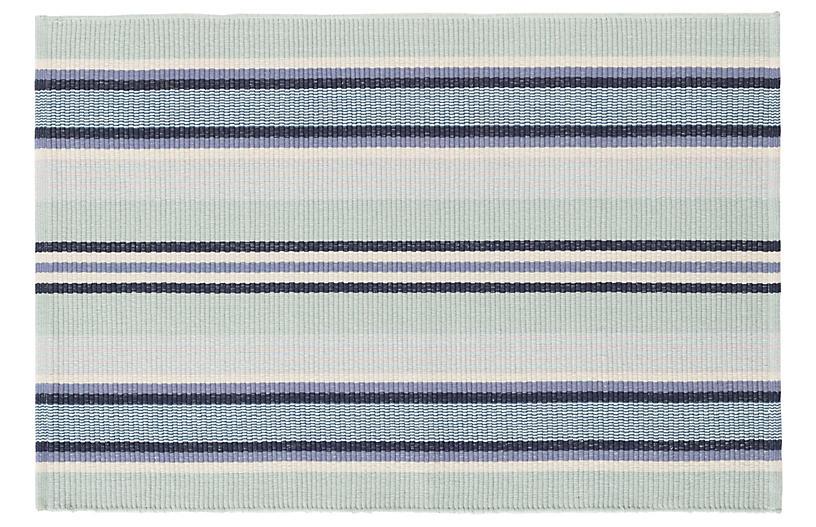 Barbados Stripe Flat-Weave Rug