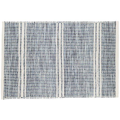 Malta Flat-Weave Rug, Blue