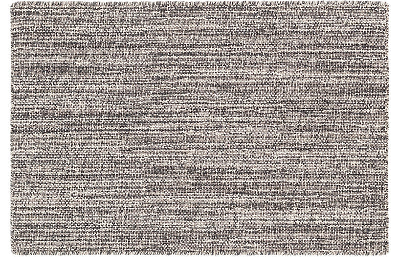 Bella Handwoven Rug, Gray