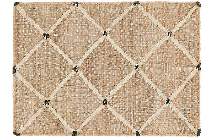DASH & ALBERT - Kali Jute Rug, Natural