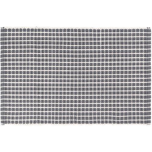 Gridiron Indoor/Outdoor Rug, Gray