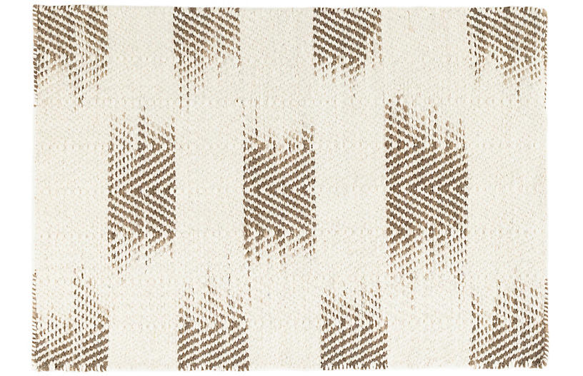 Tansy Handwoven Rug, Camel